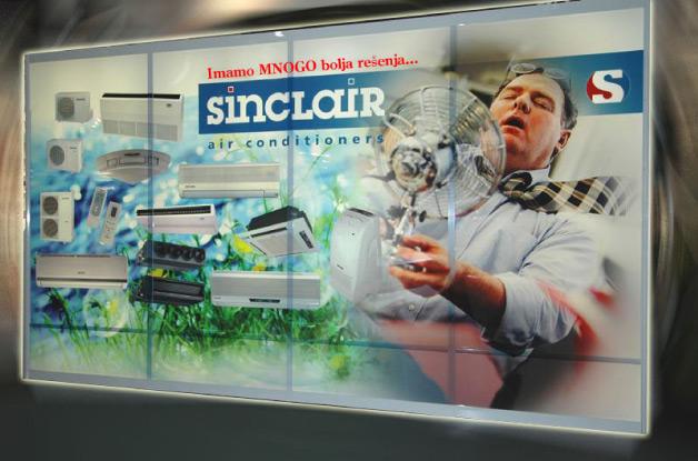 Sinclair sistemi za klimatizaciju