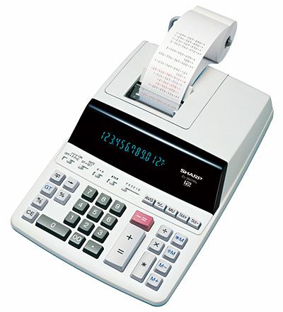 SHARP EL-2607P kalkulator sa printerom