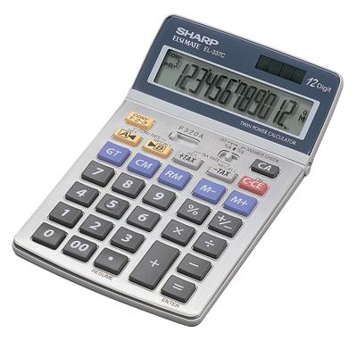 SHARP EL-337C desktop kalkulator